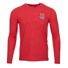 Retro Hex B Long Sleeve Tee (Red)