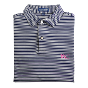 Pink Tour Stinger Stripe Polo