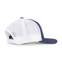 Hex B Low-Profile Trucker Cap - Navy