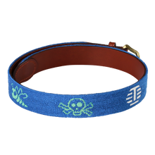 Tour Multi-Icon Needlepoint Belt