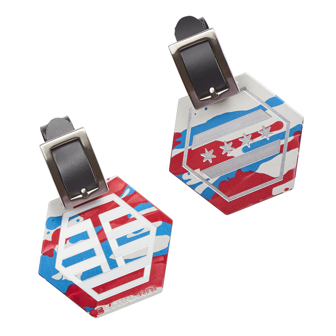 Chicago THive Flag Bag Tag