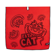 Red Fat Cat Player Towel