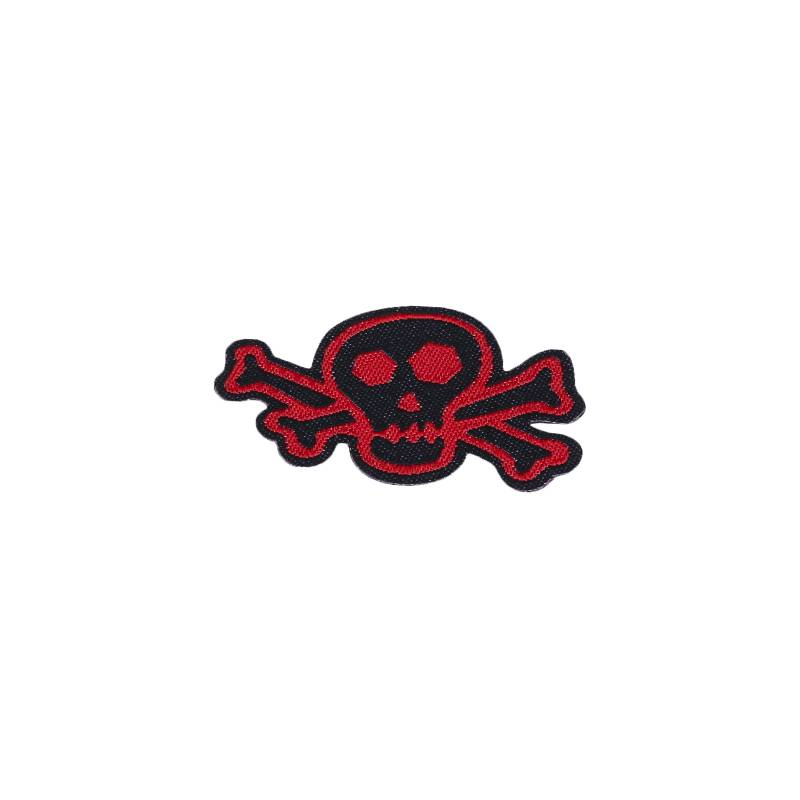 Skull & Bones Red & Black Patch - BettinardiGolf