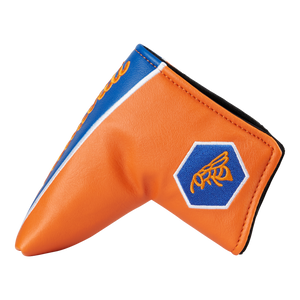 Retro Scripted Bettinardi Headcover (Orange/Blue)