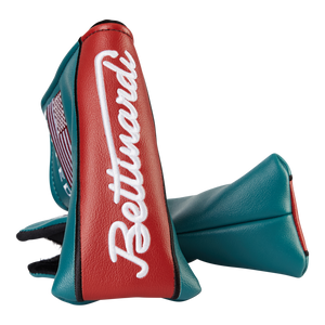 Retro Scripted Bettinardi Headcover (Teal/Red)