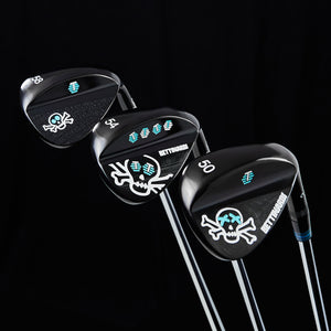 Skull & Bones Black PVD Wedges (50,54,58)
