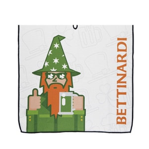 Wizard St. Patrick's Day Players Towel
