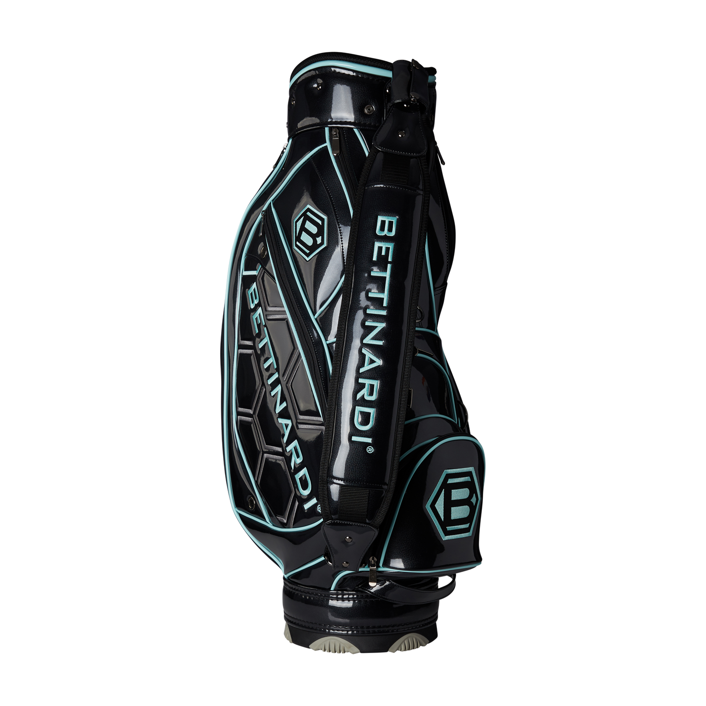 Bettinardi Staff Bag (Black and Tiffany Blue)
