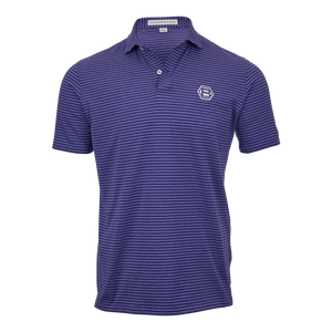Hex B Bettinardi Stripe Polo (Navy & Windsor)