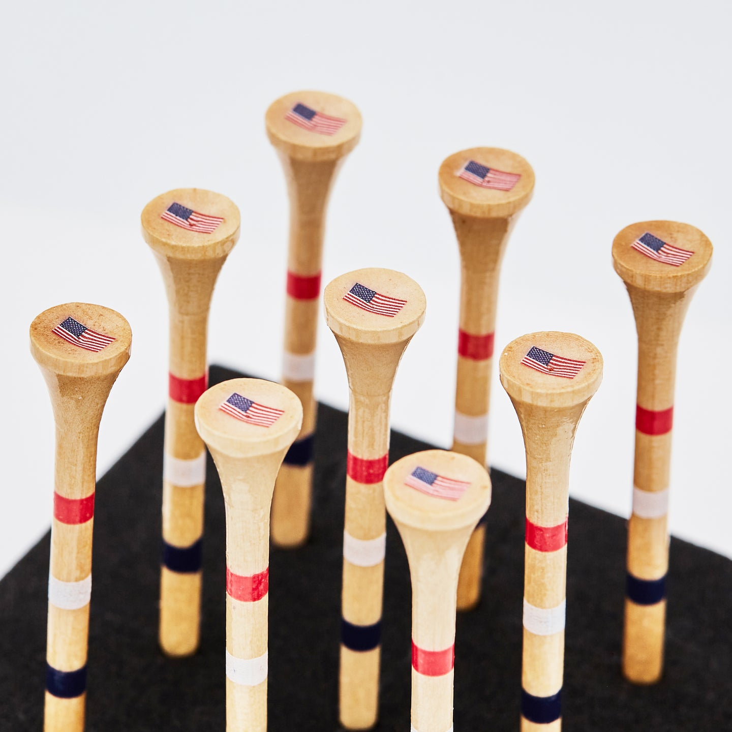 American Flag Golf Tees