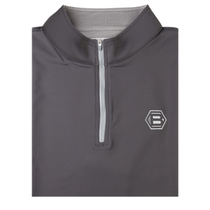 Bettinardi Stretch Loop Terry Quarter-Zip Vest (Iron)