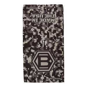 Hex B Digital Camo USA Players Towel (Gray)