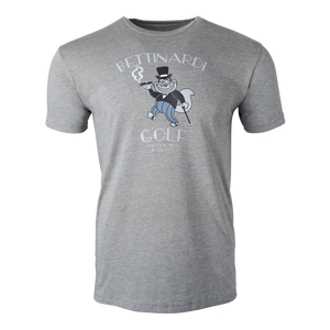 Gangster Fat Cat T-Shirt (Gray)