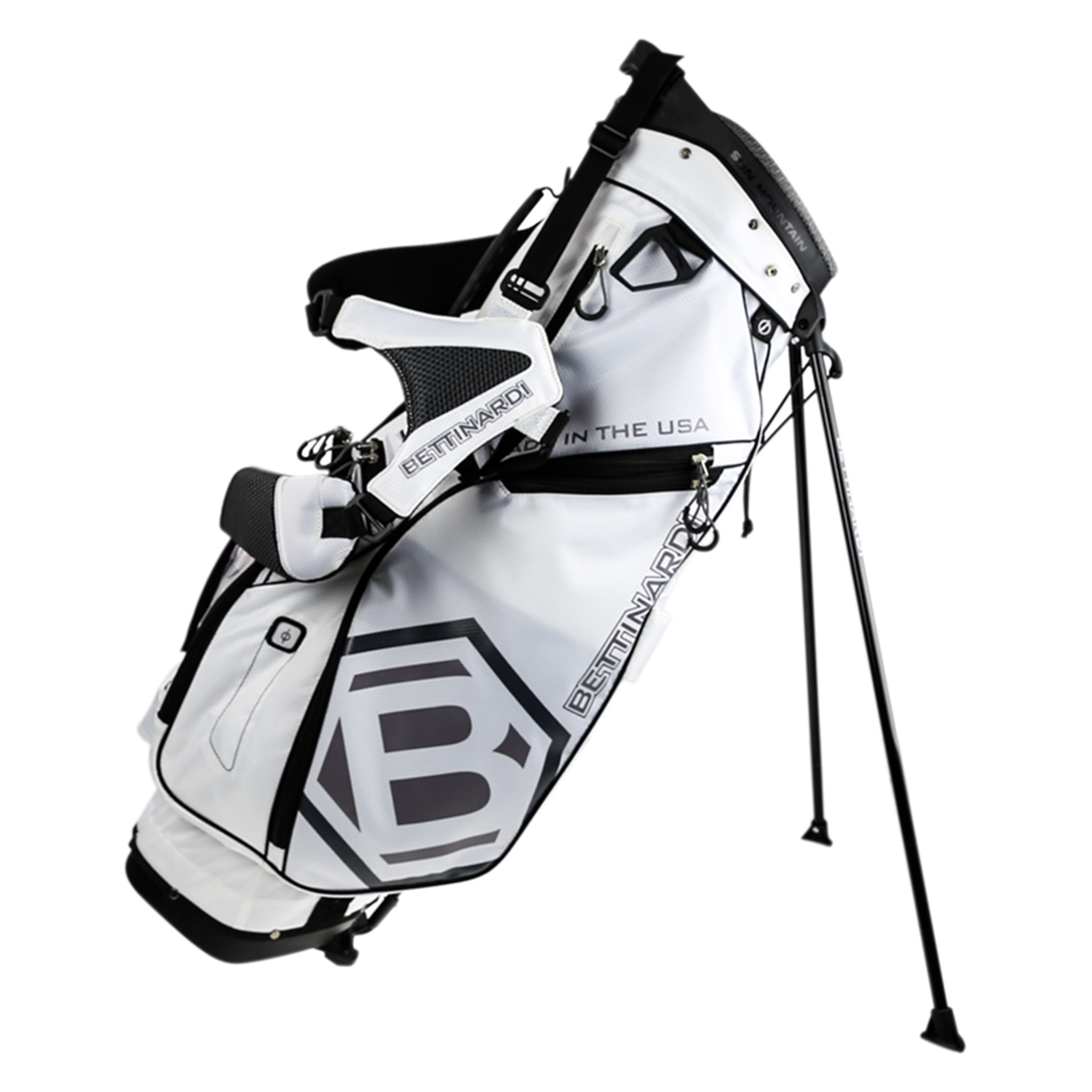 White Stand Golf Bag