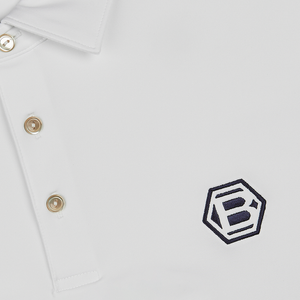 Hex B Performance Polo (WHITE)