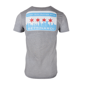 Windy City Putter Mfg. Tee (Grey)