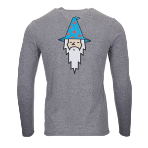 Wizard Retro Bettinardi Long Sleeve Tee (Gray)