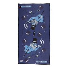 Gangster Fat Cat Players Towel