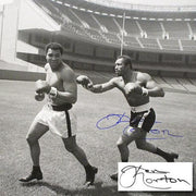Ken Norton and Ali, Yankee Stadium 2005