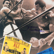 Ken Norton Photo Ticket Signed Photo