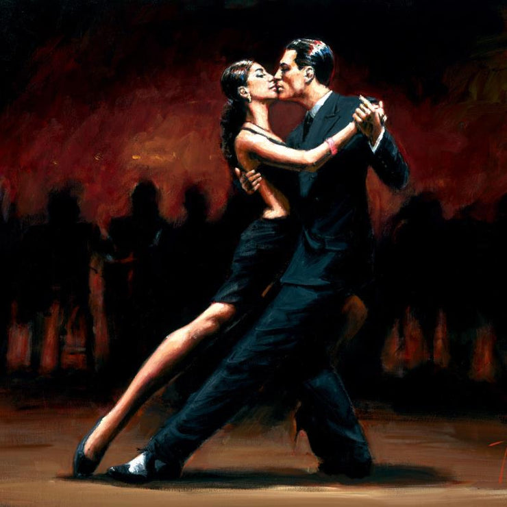 Tango in Paris in Black Suit