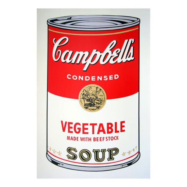 Soup can 11.48 (Vegetable w/ Beef Stock)