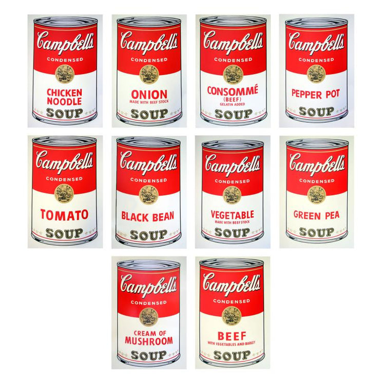 Soup Can Series I