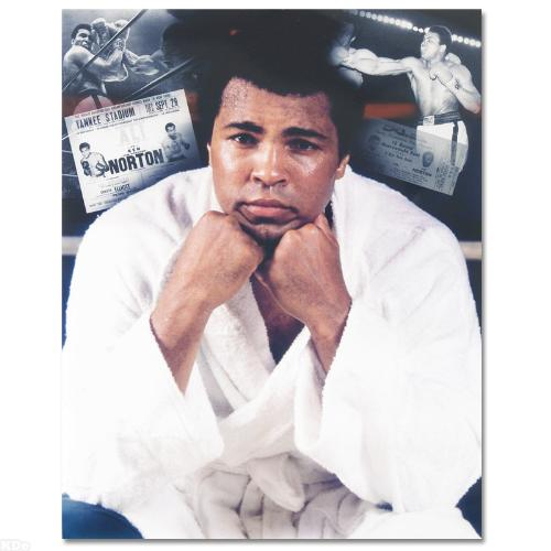 Ali with White Robe/Ticket
