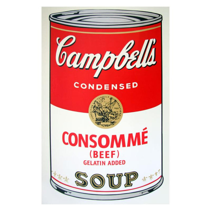 Soup Can 11.52 (Consomme)