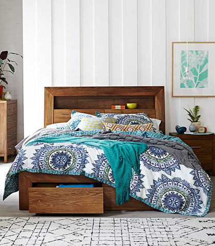 Like your small bedroom to look bigger? – Snooze