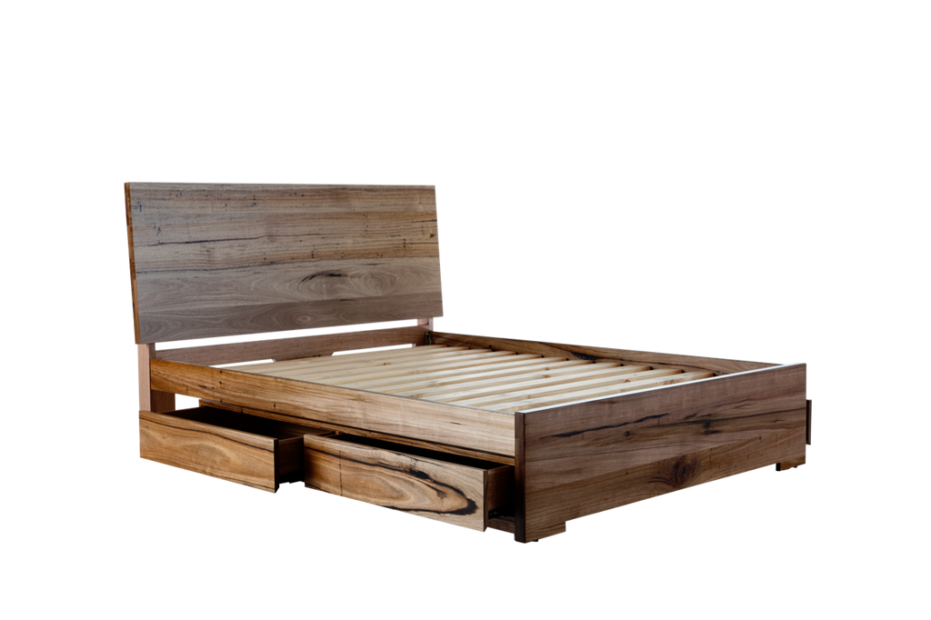 Iris Deluxe Bed Frame (with 4 Drawers) U2013 Snooze