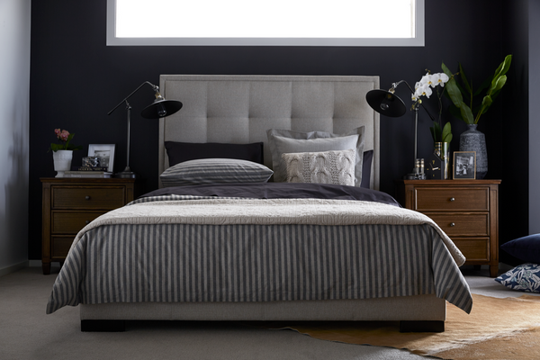 King Size Bed Master Bedrooms Chic