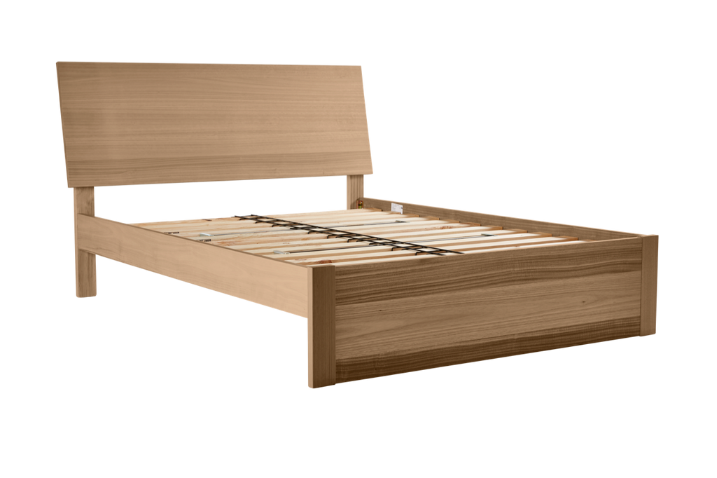My Design Bed Frame (inclined headboard & full panel base) – Snooze