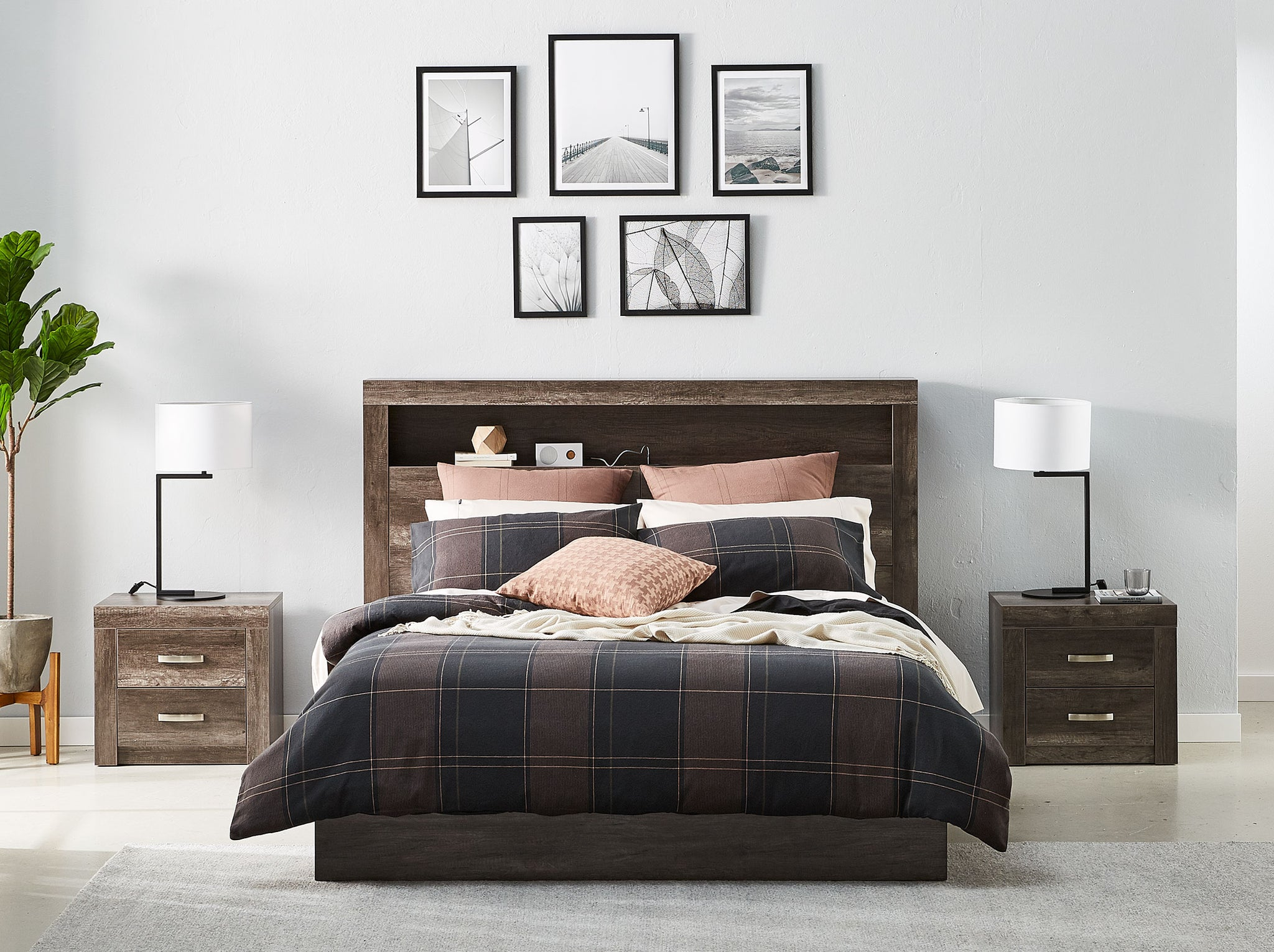 Avondale Bed Frame With 4 Drawer Base Snooze