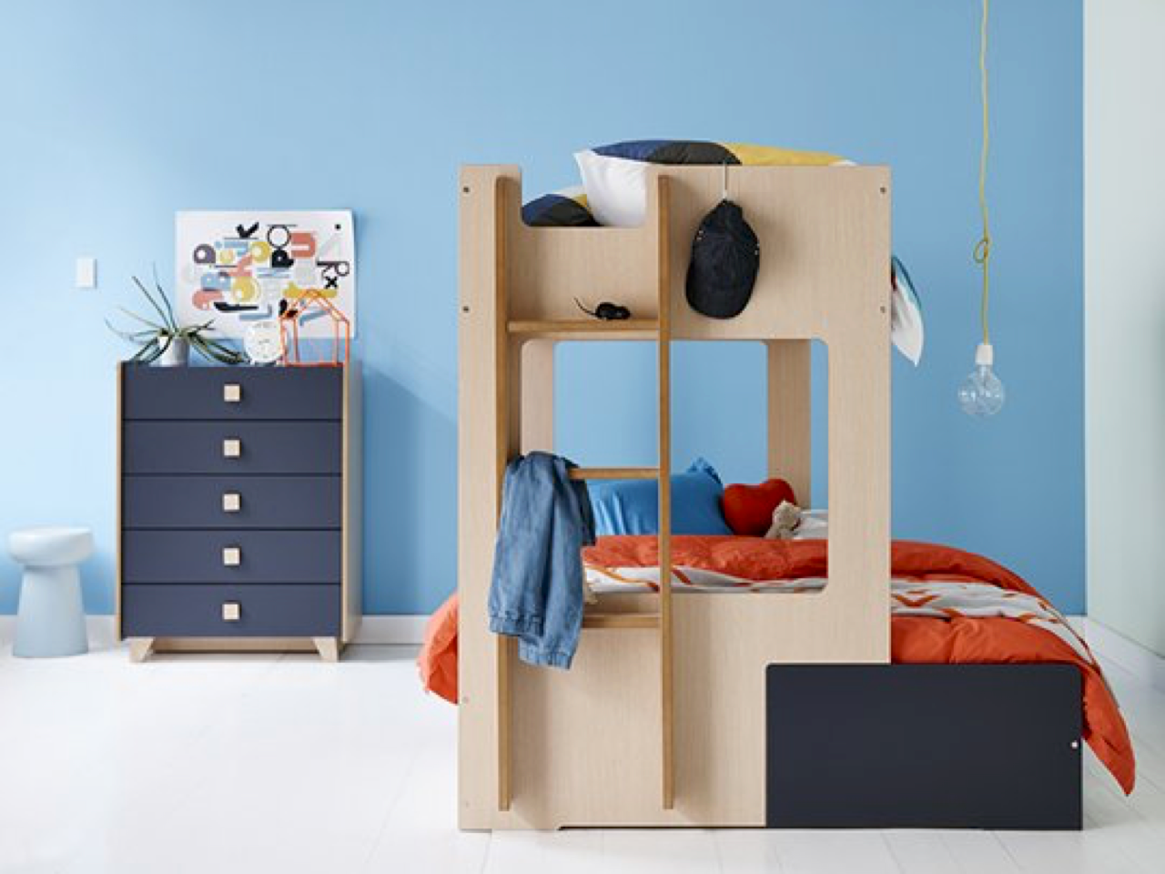 Charlie Combo Bunk Frame Snooze