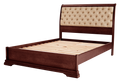 Juliet Bed Frame with Upholstered Headboard & Doona Foot
