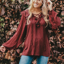 Swiss Dot Ruffle Tunic | 3 Colors