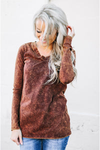 Marble Long Sleeve Tees | 10 Colors