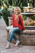 Loose Cut Cable Knit Sweater | 6 Colors