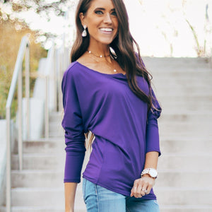 Monica Cuff Sleeve Dolman | Many Colors