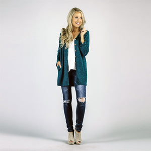 Whitney Button Cardigan with Pockets | 7 Colors