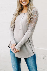 Capri Crochet Henley Tunic | 17 Colors