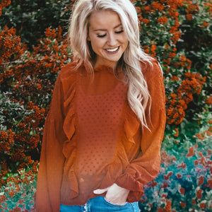 Romantic Ruffle Blouse | 4 Colors