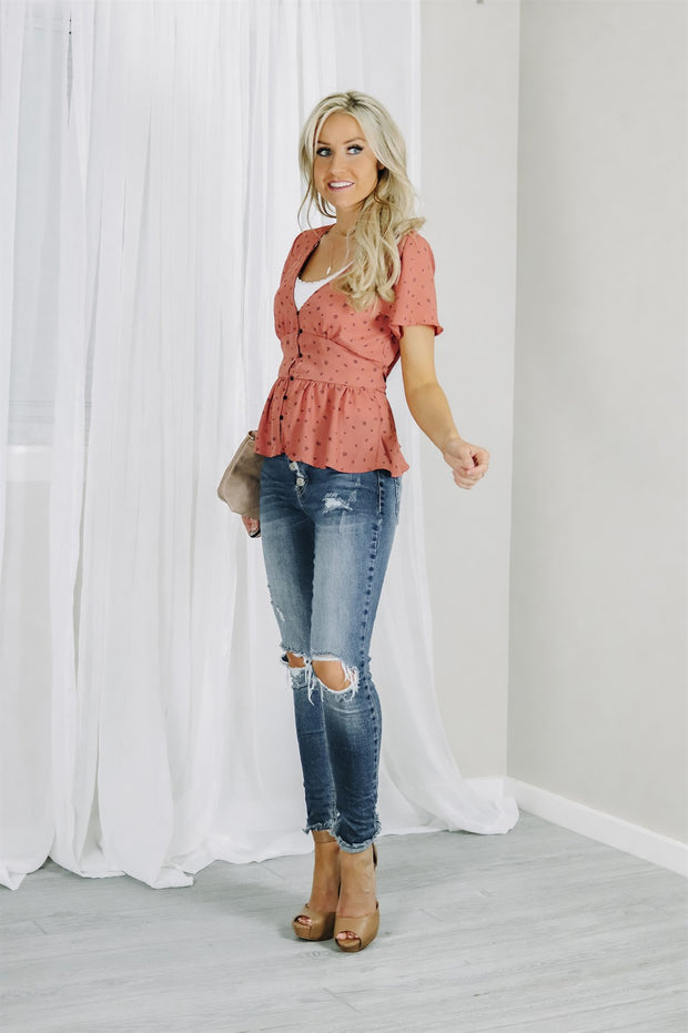 Aria Button Blouse | 2 Colors