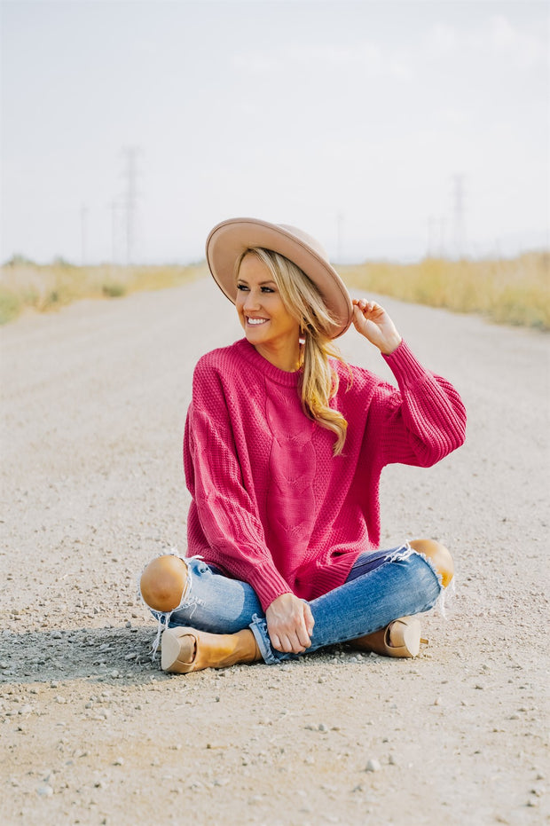 Aspen Cable Knit Sweater | 17 Colors