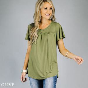 Breezie Button Tunic
