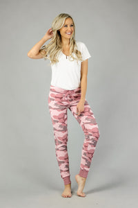 Camo Comfort Fleece Joggers | 3 Colors