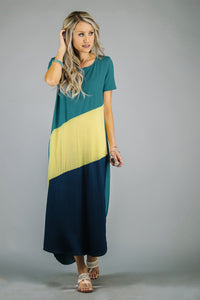 All the Angles Colorblock Maxi | 4 Colors