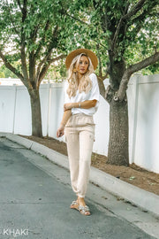 Cute Cargo Joggers | 3 Colors
