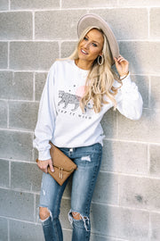 Keep it Wild Pullover | Ivory
